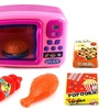 VT My Fun Microwave Children's Kid's Pretend Play Battery Op Toy Microwave Set