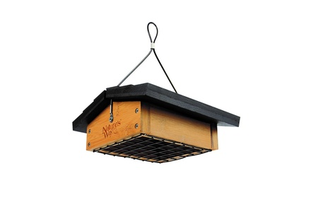 Natures Way Bird Upside-Down Suet Feeder 2 Cake Capacity Bamboo BWF2 (Goods Outdoor Décor Bird Feeders & Baths) photo