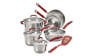 Rachel Ray 11-pc. Nonstick Cookware Set