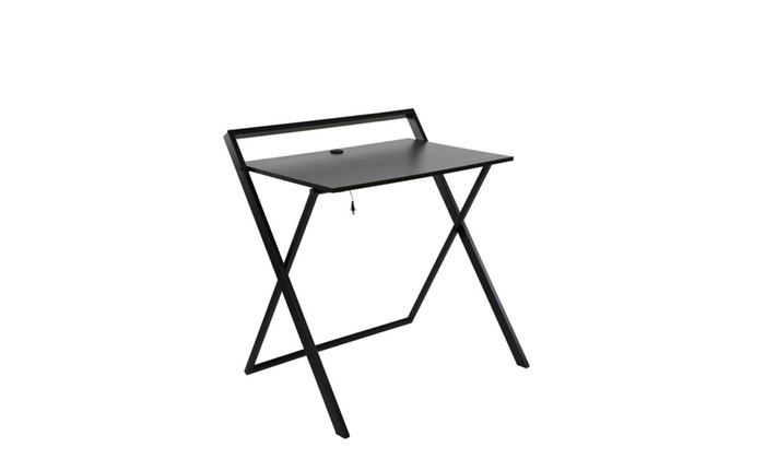 Onee Basics 50 1020qa05 No Embly Required Desk With Dual Usb Charger