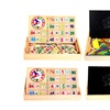 Children Number Cards Calculation Tool Wooden Math Education Toy Stick