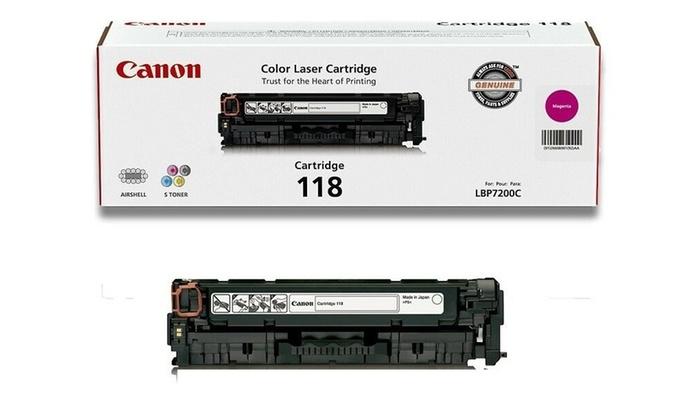 10 PK Black Color Toner for Canon 118 ImageCLASS MF726CDW MF8330cdn LBP7660Cdn