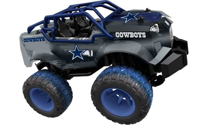 Toys For Trucks Green Bay : Up to off on nfl rc monster trucks groupon goods
