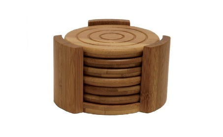 Lipper 8833 Bamboo Collection 7-Piece Coaster Set 8a2daa1e-c31f-417a-8953-4b886db2e241