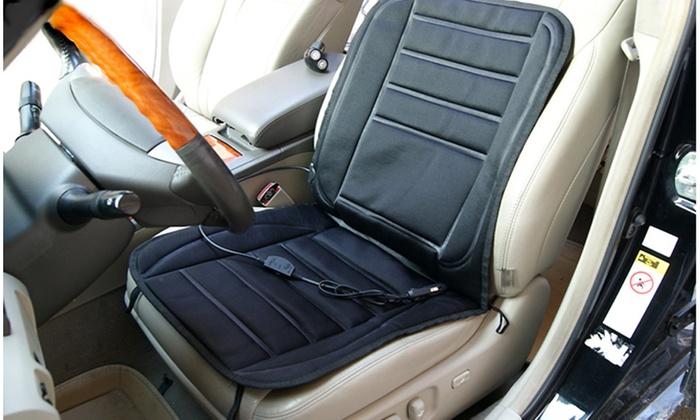 Groupon Goods Electric Heated Car Seat Pad