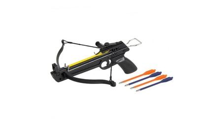 50LB Black Archer Hand Held Hunting Archery Crossbow Sport dcde5e48-f672-454c-a2cf-898a4b4a3227