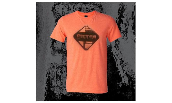 Cool Guitar Player Tee Shirt