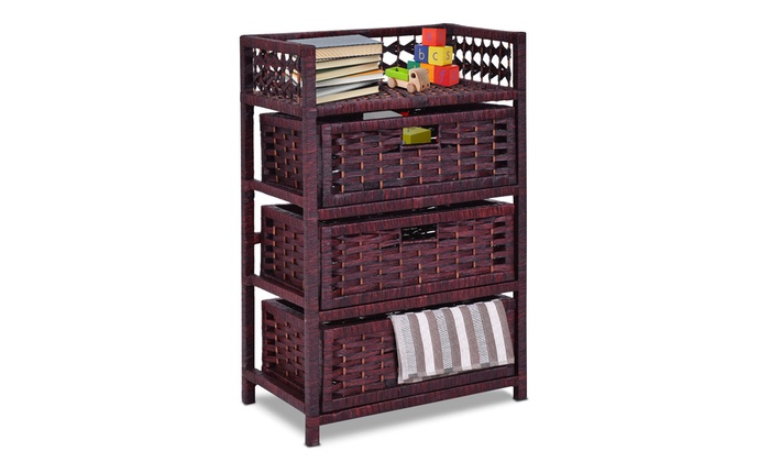 Up To 42% Off On Costway Storage Unit Tower Sh... | Groupon ...