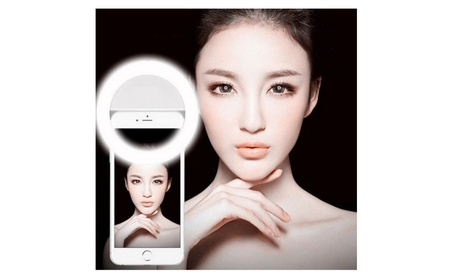 Selfie Portable LED Ring Fill Light Camera Photography for Cell Phones