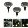 Runway solar 3 Led In-Ground Lights