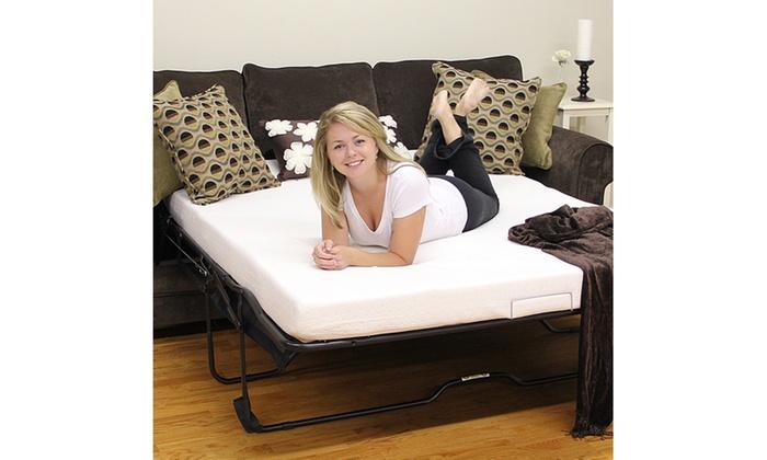 Posturetemp 4 5 Memory Foam Replacement Sofa Bed Mattress