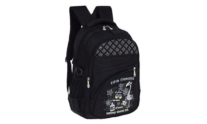 Voogo Girls Cute Paint Back Packs School Book Bags Backpack