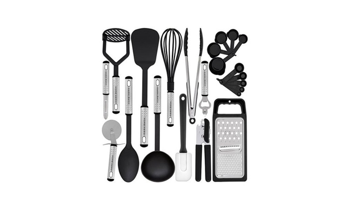 Kitchen Utensil Set   23 Nylon Cooking Utensils Kitchen Gadgets ...