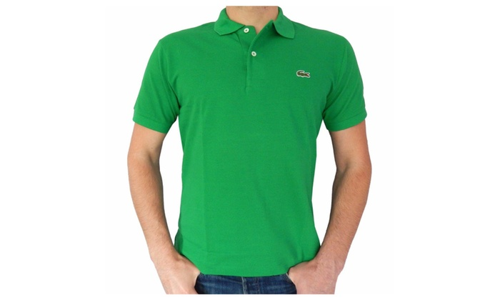 43885219 Lacoste Polo Shirt Men's XL chlorophyll green