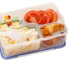 1000ml Microwave Healthy Plastic 4 Frame Lunch Boxes