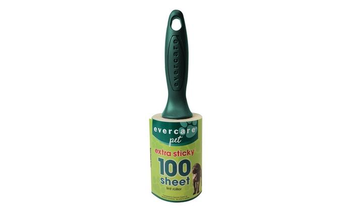 Evercare Pet Plus Extreme Stick Lint Roller 100 Sheet