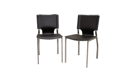 Montclare Leather Dining Chair (Set of 2)