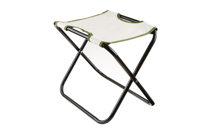 ... Pure Garden Folding Garden Stool With Tool Bag