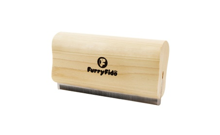 FurryFido Stainless Steel Deshedding Tool & Pet Grooming Brush 3ee18798-666a-4398-a97d-b46ad148d251