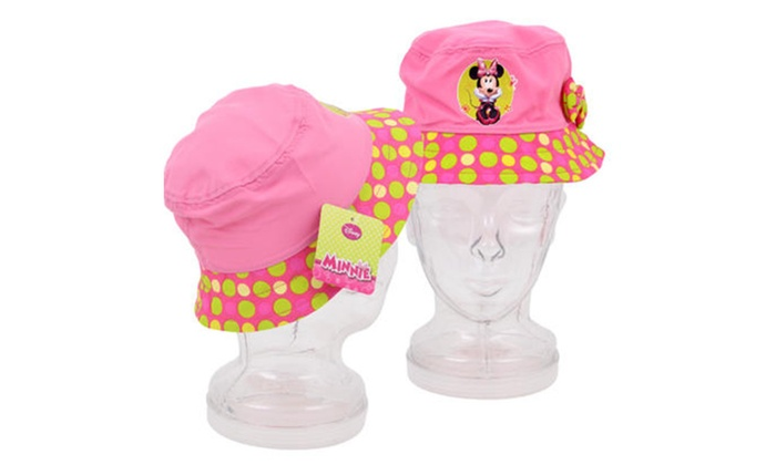 Disney Minnie Mouse Bucket Hat - Pink  3ad84a8d981