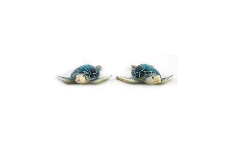 "5"" Blue Sea Turtle Figurine (Set of 2) 05f8336c-841e-4779-a9a1-35b52d5b3298"
