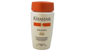 Nutritive Bain Satin 2 Shampoo by Kerastase for Unisex - 8.5 oz
