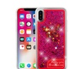 Insten Glitter Butterfly Glow PC/TPU Rubber Case For iPhone X