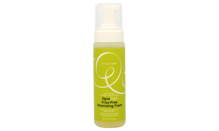 Devacurl Frizz Free Volumizing Foam Travel Size