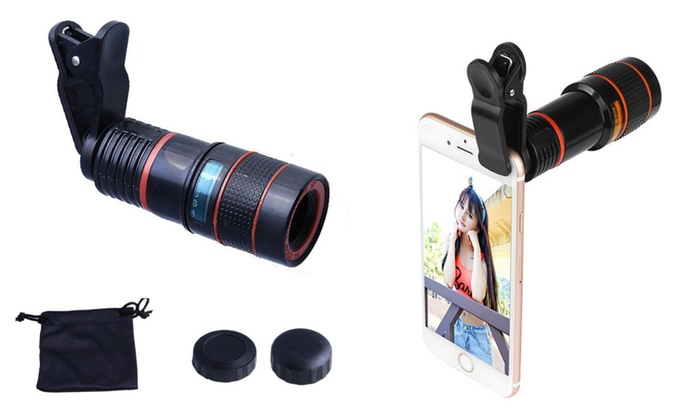 Zoom telescope camera lens clip on photography for iphone