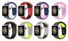 Breathable Silicone Sport Band for Apple Watch Series 1-4 and Sport