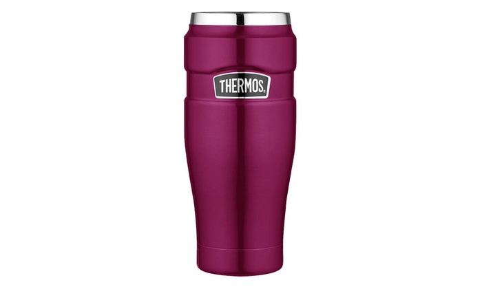 Stainless King Travel 16 Thermos TumblerRaspberry Ounce 8vnwNm0