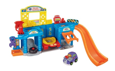 VTech Go! Go! Smart Wheels Auto Repair Center Playset 2104e240-f2c4-443b-9ad8-bf56151767b8