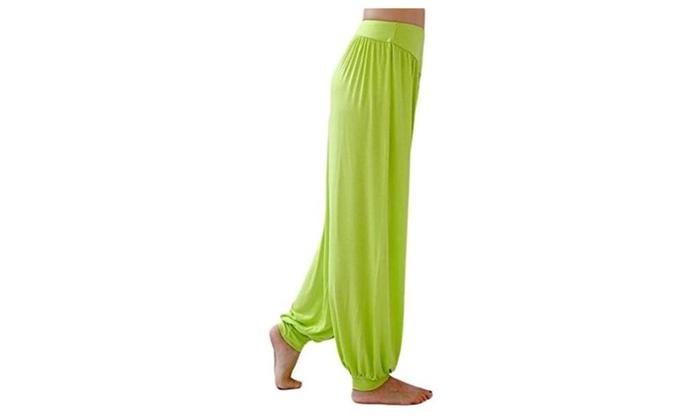 Women's Modal Cotton Soft Yoga Sports Dance Harem Pants