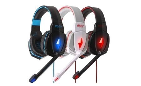 Gaming Headset Surround Stereo Headband Headphone USB 3.5mm Led 1e4e7097-feae-4eaa-9aee-ce3651b24fad