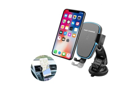 Universal Holder / Mount with LED IQ Wireless Charger 916a0ec4-229a-4a00-ab0b-f4c73c1e823b