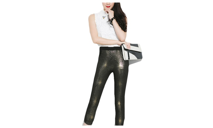 Women's Solid Straight Fashion Simple Casual Leggings
