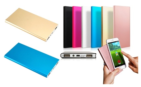 Thin 20000mAh Portable External Battery Charger Power Bank for Phone 5e0734ba-be41-4c2b-986f-5eafccd76dab
