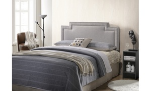 Casey Modern and Contemporary Fabric Headboard