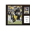 """NFL 12""""x15"""" Le'Veon Bell Pittsburgh Steelers Player Plaque"""
