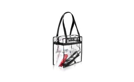 Bag Transparent Clear Tote NFL Stadium Approved Shoulder Purse Handbag (Goods Women's Fashion Accessories Handbags Totes) photo