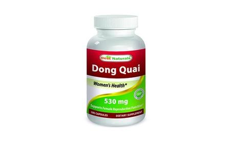 Best Naturals Dong Quai 530 mg 180 Capsules c5104f7c-6aa6-4202-8702-c43beec441d3
