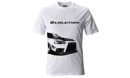 """56/"""" Cotton Mitsubishi Lancer Evolution Fabric"""