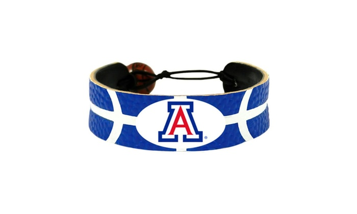 NCAA Gamewear Leather Basketball Bracelet
