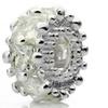 Silver Plated 'Glitteratzi' Decorative Crystal Bead