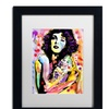 Dean Russo 'Big Girls Don't Cry' Matted Black Framed Art