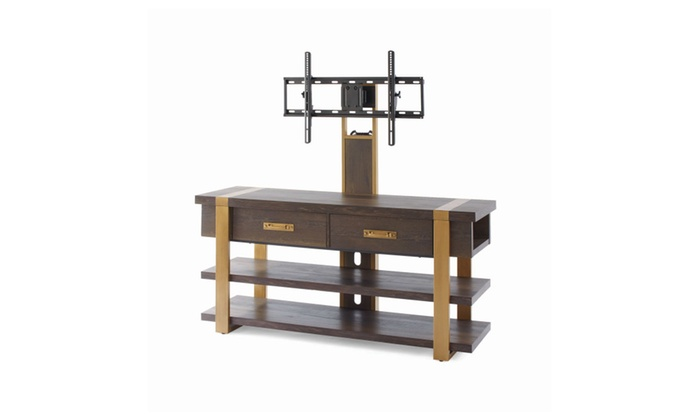 Lana Modern 3 In 1 Tv Stand For Tv S Up To 70in Groupon