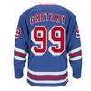 Wayne Gretzky New York Rangers CCM Premier Throwback Jersey