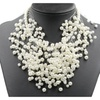 Luxury Design Choker Simulated Pearl Necklace for Women