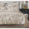 Pastoral Printing Duvet Cover Set Microfiber Fabric 3-Piece Bed Set