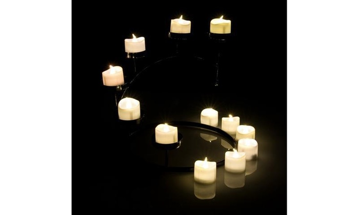 10 PCS Flameless Votive Candles Battery Operated Flickering LED Tea Light